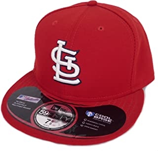 New Era ニューエラ MLB St. Louis Cardinals セントルイス カージナルス ベースボールキャップ(レッド) [並行輸入品]
