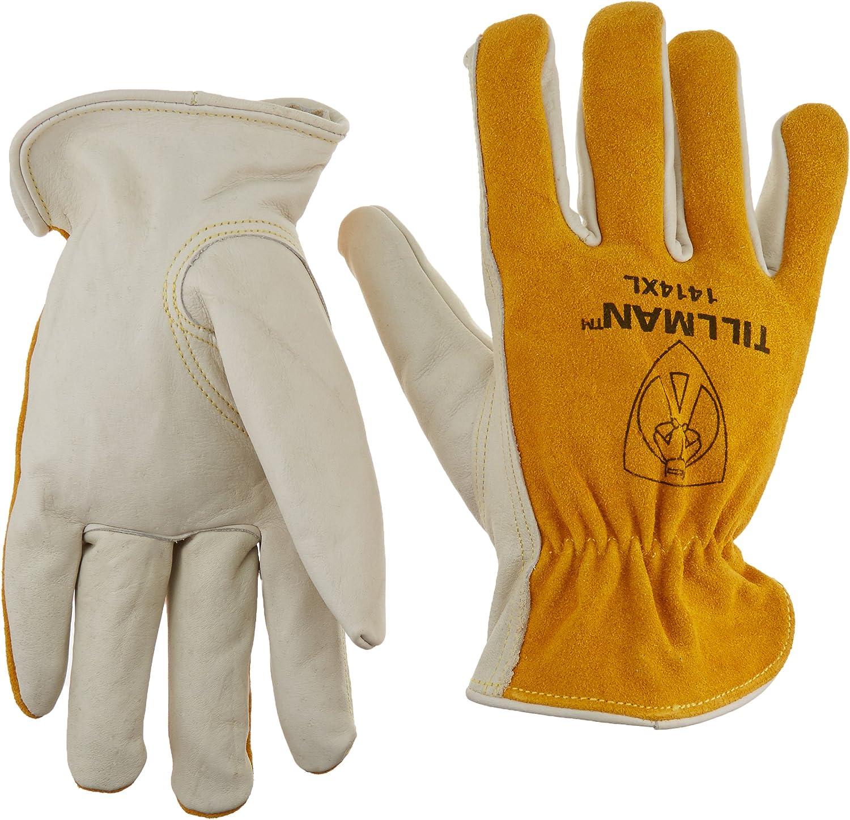 Tillman Leather Drivers Phoenix Mall Gloves Cowhide XL Model:1414XL online shopping PR