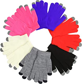 Women's Pack of 6 Assorted Magic Gloves