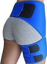 Brace Hip - پشتیبانی از کشاله ران برای کمک به کمردرد درد ران همسترینگ Quadriceps هیپ آرتروز SI جراحاتی مشترک هیپ فلکسور هیپ فروم از عضلات - فشرده سازی کشاله ران - بهترین کمربند سکسی سینه مردان زنان
