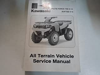 2008 Kawasaki Brute Force 750 4x4i KVF750 4x4 ATV Service Repair Manual STAINED