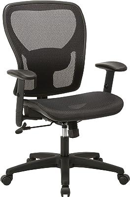 "Lorell SOHO Chair, 42.9"" x 27.8"" x 27"", Black"