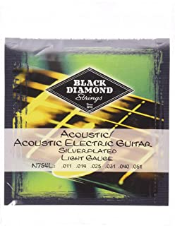 black diamond guitar strings