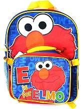 Sesame Street Elmo - 16 Inch Elmo Backpack with Utility Bag