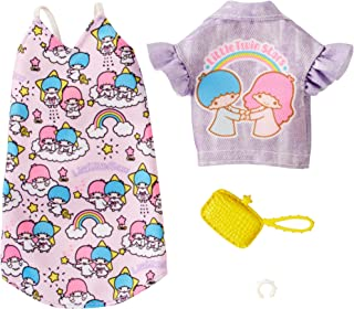Barbie Hello Kitty Little Twin Stars Pink Dress Fashion Pack