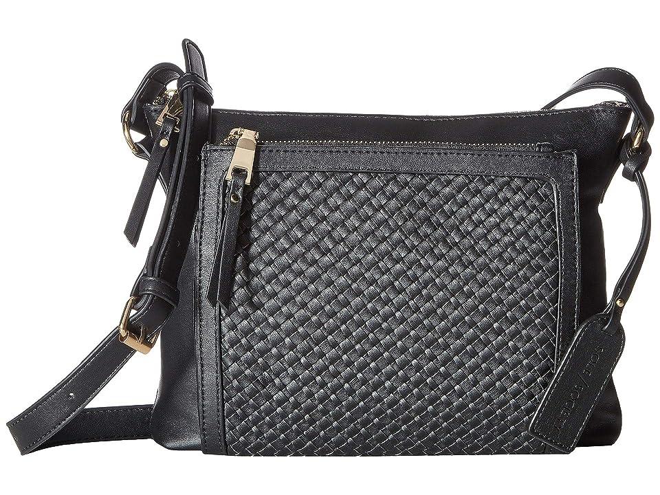 1bc2c2b9dd SOLE   SOCIETY Ady Crossbody (Black) Cross Body Handbags