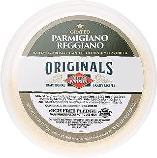 Dietz & Watson Originals Grated Parmigiano Reggiano Cheese Cup, 4 oz