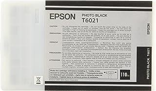 Epson T6021 Tintenpatrone, Singlepack, Foto schwarz