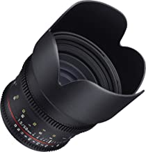 $379 » Samyang Cine DS SYDS50M-C 50mm T1.5 AS IF UMC Full Frame Cine Lens for Canon EF - Fixed