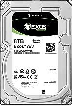 Seagate Exos 7E8 8TB 512e SATA 256MB Cache 3.5-Inch Enterprise Hard Drive (ST8000NM0055)