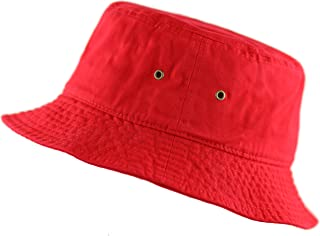 THE HAT DEPOT 300N Unisex 100% Cotton Packable Summer Travel Bucket Hat 7094d7ac22c