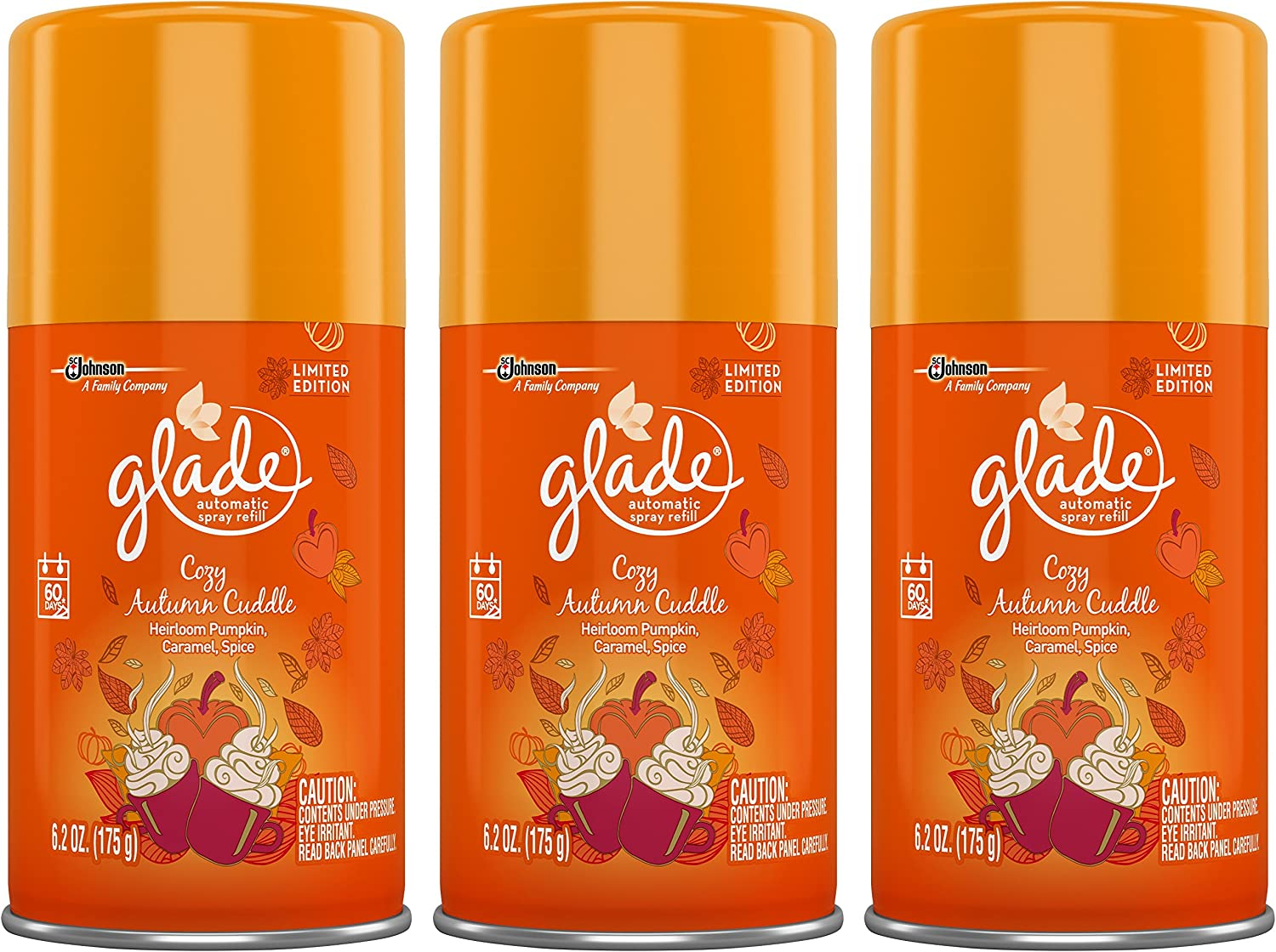 Glade Automatic Product Spray Refill - Complete Free Shipping Edition Collecti Limited Winter