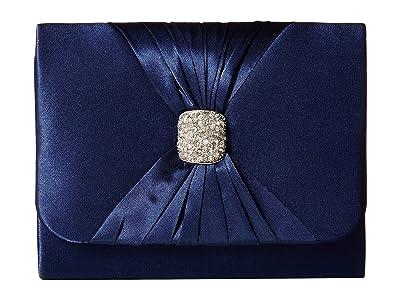 Jessica McClintock Katie Clutch (Navy) Clutch Handbags