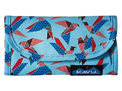 KAVU Big Spender (Paper Flock) Wallet Handbags