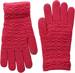 Steve Madden - Cable I Touch Brush Lining Gloves