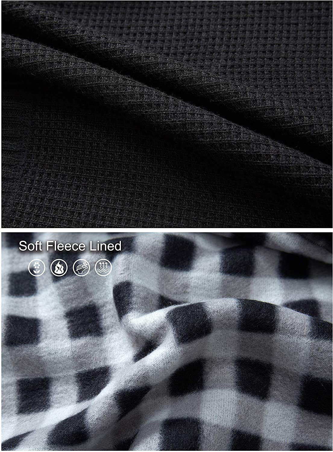 Gioberti Mens Knitted Regular Fit Full Zip Cardigan Sweater with Soft Brushed Flannel Lining