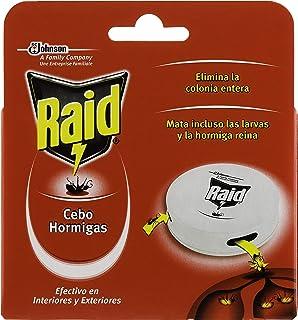 Raid Cebo Antihormigas - Insecticida Cebo Hormigas Interior y Exterior