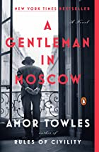 Cover image of A Gentleman in Moscow by Amor Towles