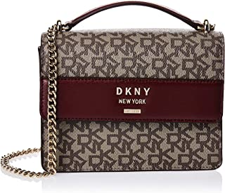 DKNY Women's Satchel, Ecru/Bld Red - R933JD68