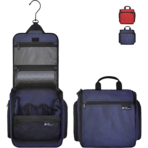 D D Hanging Toiletry Bag - Designer Travel Organizer for Makeup and  Toiletries for Men and Women c1e76a8db5a92