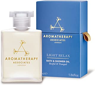 Aromatherapy Associates Light Relax Bath and Shower Oil, 1.86 Fl Oz, blended with the finest high-altitude grown Lavender,...