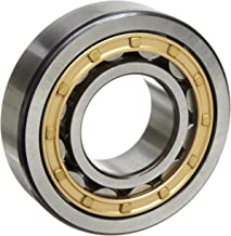 SKF NJ 2213 ECJ Cylindrical Roller Bearing, Single Row, Removable Inner Ring, Flanged, Straight Bore, High Capacity, Normal Clearance, Steel Cage, Metric, 65mm Bore, 120mm OD, 31mm Width