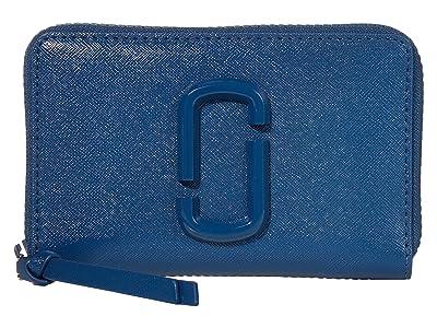 Marc Jacobs Small Standard Wallet (Hudson River Blue) Handbags