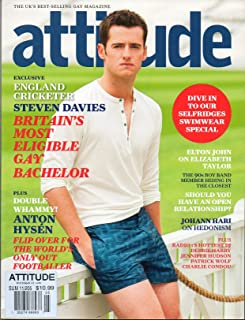 Attitude THE UK's BEST SELLING GAY MAGAZINE Summer 2011 THE WORLD'S ONLY OUT FOOTBALLER: ANTON HYSEN