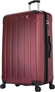 DUKAP Intely 32 Inch Extra Large Suitcase with Ergonomic GEL Handle, Hardside Travel Luggage with TSA Combination Lock and...