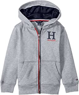 Tommy Hilfiger Kids - Matt Logo Hilfiger Hoodie (Toddler)