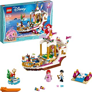 LEGO Disney Princess Ariel's Royal Celebration Boat 41153 Children's Toy Construction Set (380 Pieces)