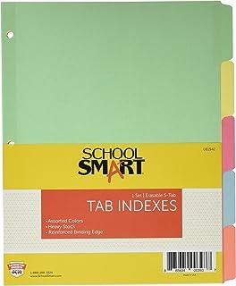 L'école Smart effaçable Tab Intercalaires