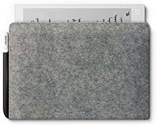 reMarkable Folio: Grey - Wool Felt - The Official Sleeve for The reMarkable Paper Tablet