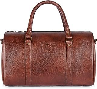 Travel Duffel Bag, 30 ltrs Vegan Leather Duffle Bag, Weekender Luggage Bag