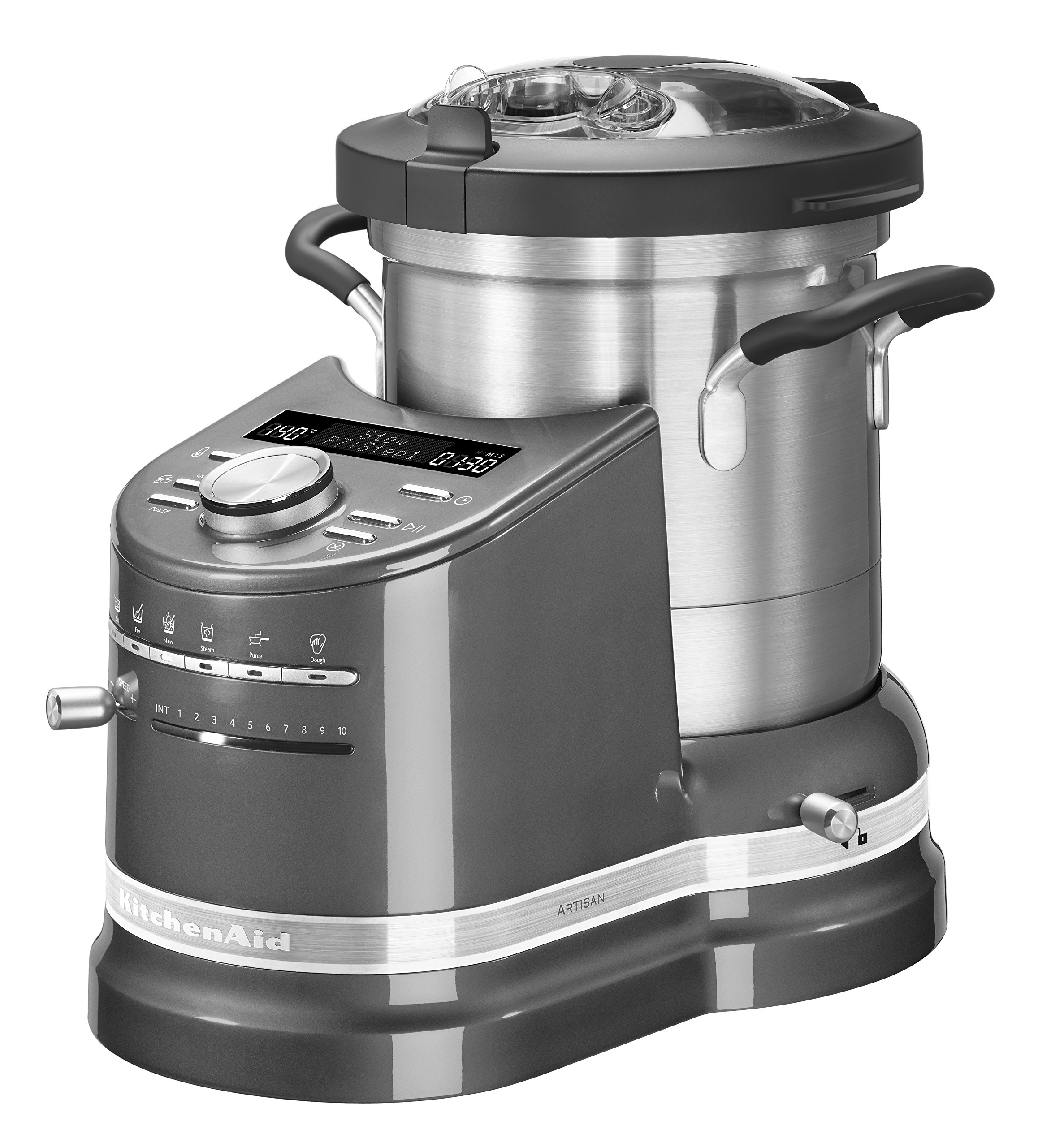 Kitchenaid Cook Processor - Robot de cocina, 1500 W, color plateado: Amazon.es: Hogar