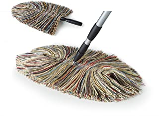 Sladust All Wool Dust Mop with Hand Duster
