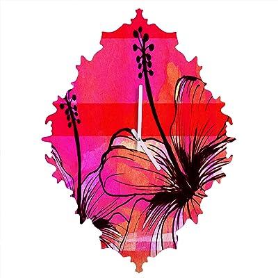 Deny Designs Garima Dhawan Rain 13 Baroque Clock Medium