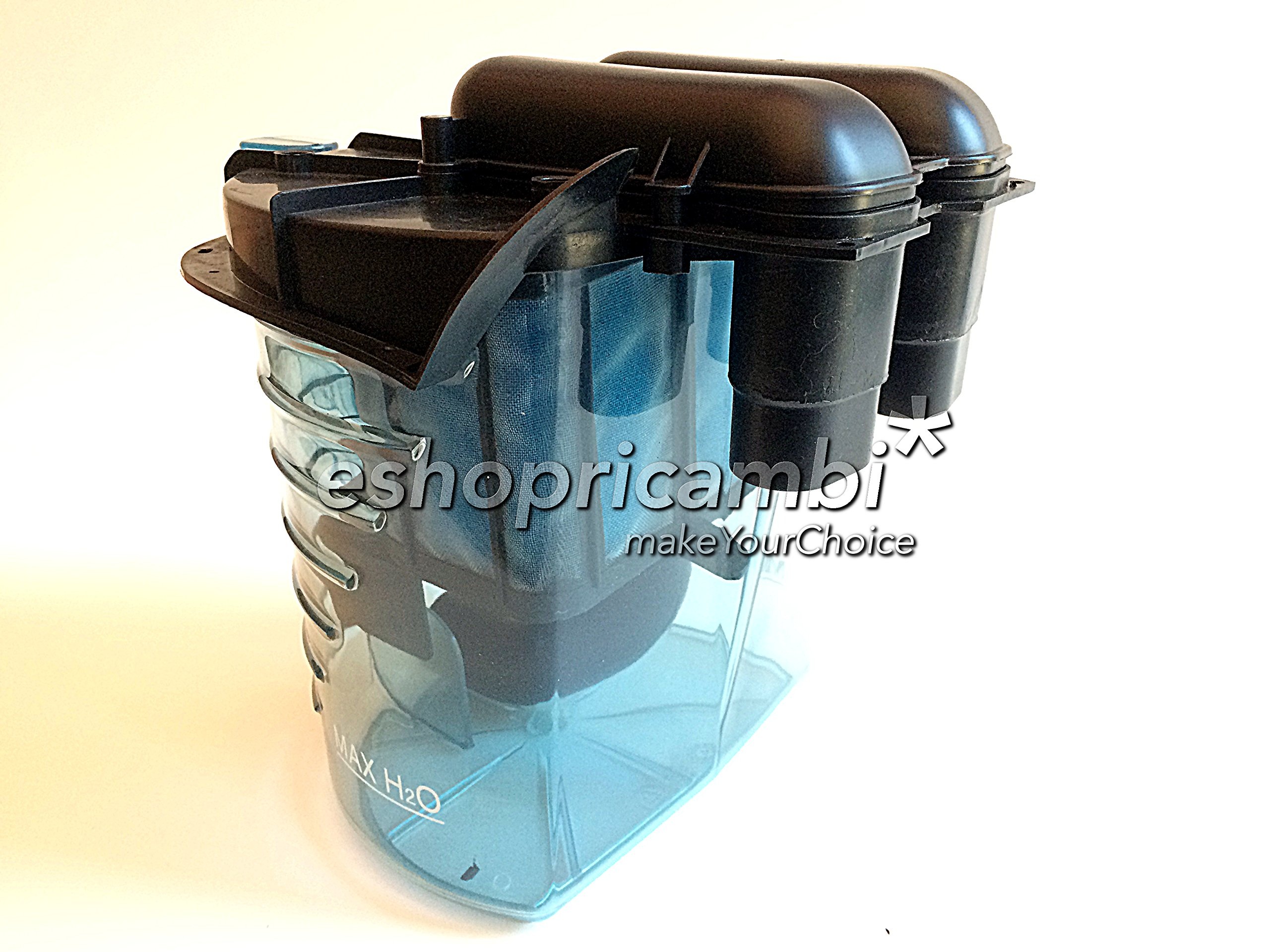 Cubo + Grupo Filtro completo original para aspiradora Polti Lecologico as806: Amazon.es: Hogar