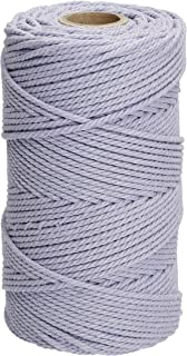 Filani Lieblingsgarn - Premium Makramee Garn 3 mm x 120 m aus Baumwolle in Lavender