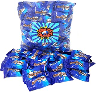 CrazyOutlet Pack - Almond Joy Miniatures Bite Size Chocolate Candy Bars, Milk Chocolate Coconut Almonds, 2 lbs