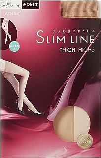 (アツギ)ATSUGI ストッキング SLIM LINE(スリムライン) ふともも丈 ストッキング 〈3足組〉