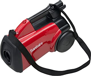 Best Sanitaire SC3683B Commercial Canister Vacuum, Red Review