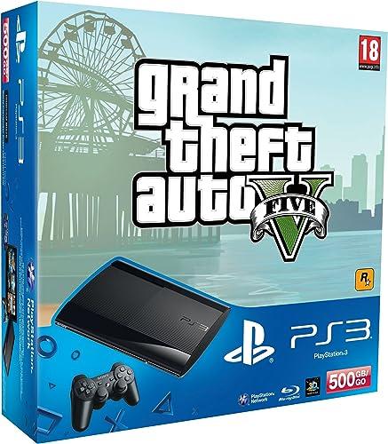 Playstation 3 - Console 500 GB con Grand Theft Auto V [Bundle]