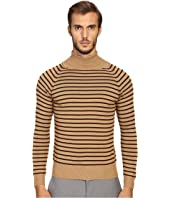 Marc Jacobs - Stevie Stripe Turtleneck Sweater