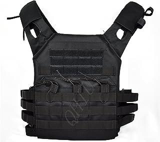 comprar comparacion QHIU Chaleco Tácticos Ligero Militar Combate Camo Protección Molle Extraíble Placas para Airsoft Paintball Caza CS SWAT Ju...