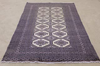 Antique Afghan Rugs Genuine Sheep Rug Handknotted Natural Home Decor for Living Room for Sale