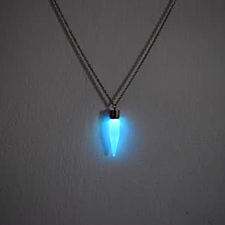 Multicolor LED Light up Glow Pendant Cone Necklace - Glow Cone Necklace