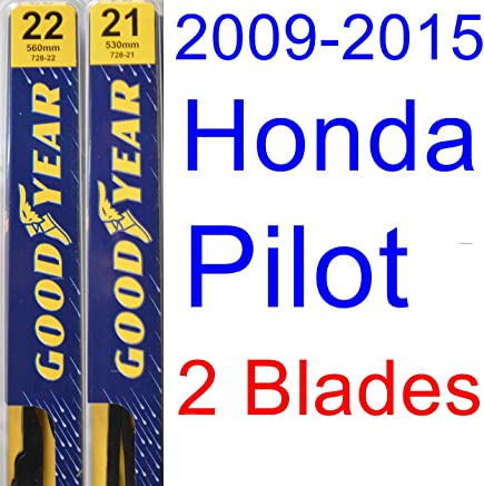 2009-2015 Honda Pilot Replacement Wiper Blade Set/Kit (Set of 2 Blades