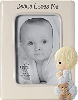 Precious Moments I Love Mom Boy Resin Home Decor Collectible Photo /& Picture Holder Stand Figurine 173422
