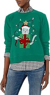 Hanes Women's Ugly Christmas Sweatshirt
